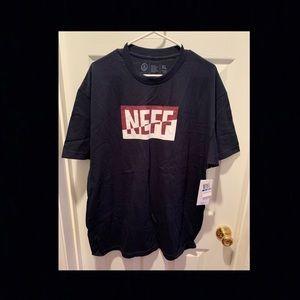 NEFF Tee Shirt ~ Navy Blue